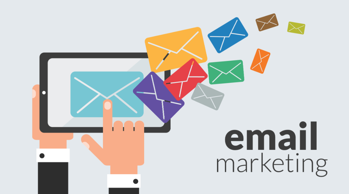 Illustration of Email Marketing