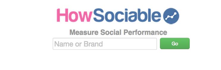 Homepage of HowSociable