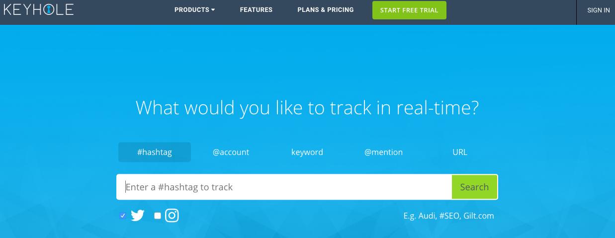 Homepage of Keyhole