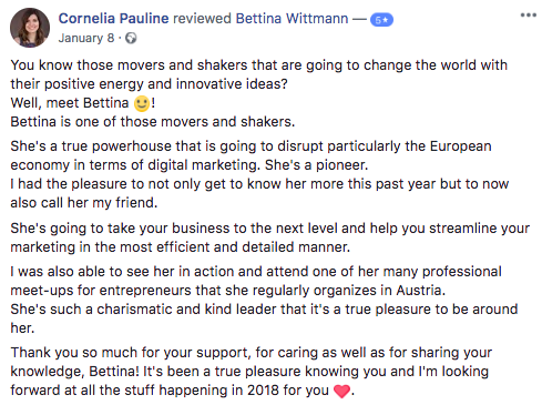 Facebook-Review-CorneliaPauline-FunnelProAcademy-FunnelGal