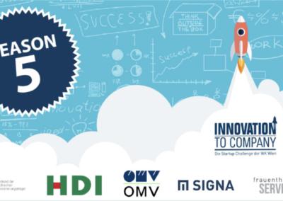Innovation2Company der Wirtschaftskammer Wien 2019