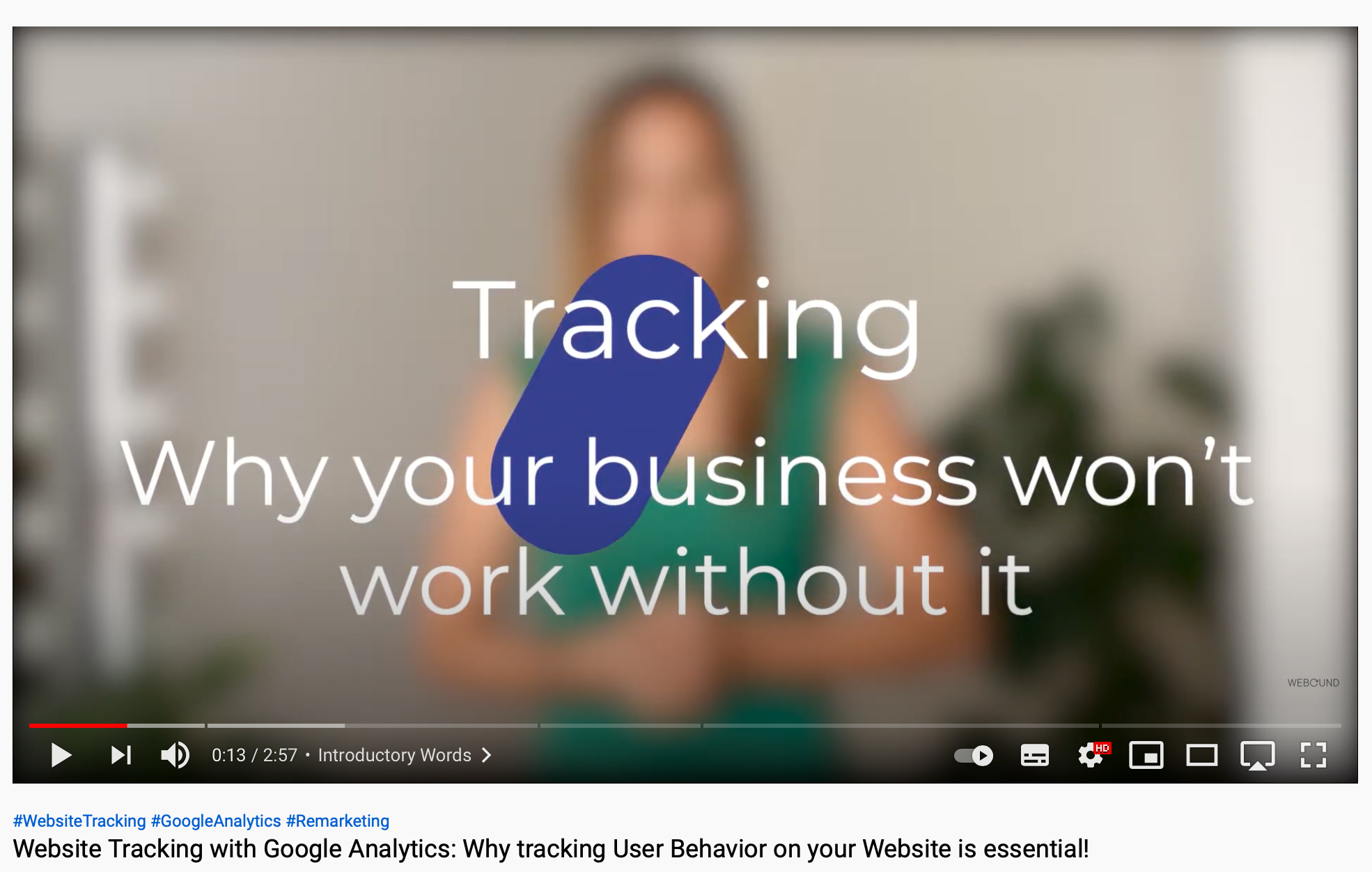 Tracking - Why your business won't work without it